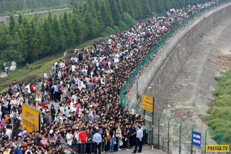 Как выглядит перенаселение Китая