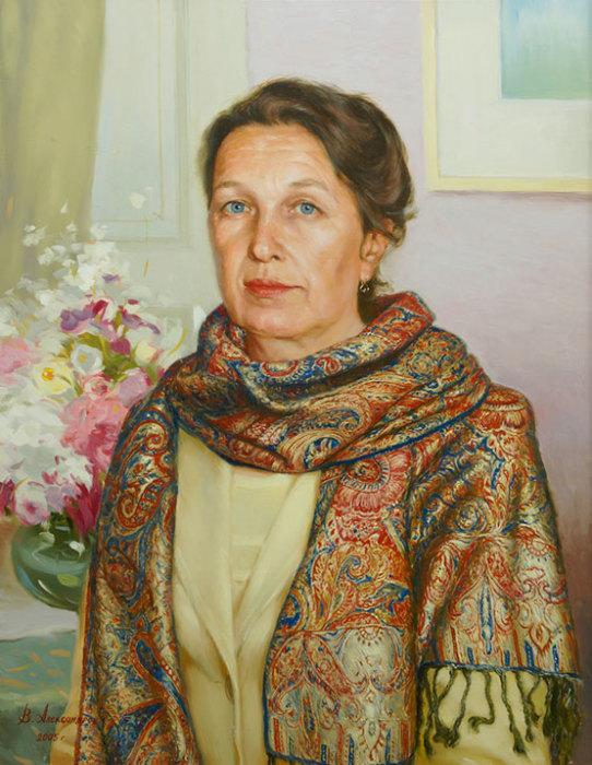 Цветной шарф. Автор: Владимир Александров.