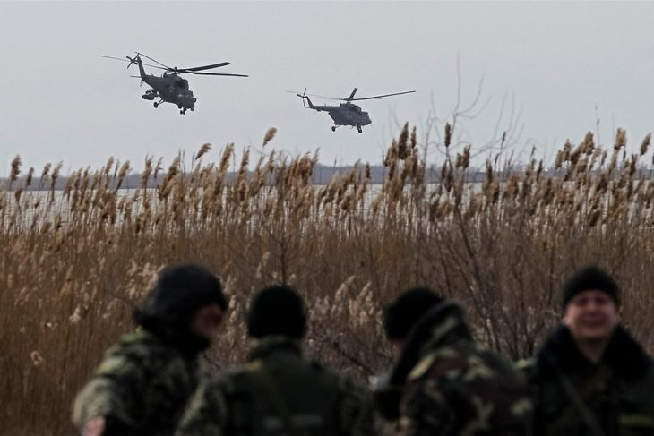 Ударная группа украинских военных подошла к границам РФ