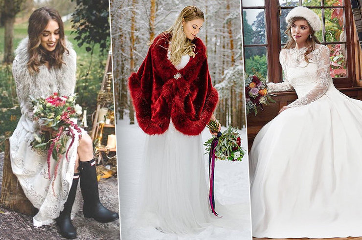 Нежная королева: 18 потрясающих идей для зимней свадьбы из Instagram