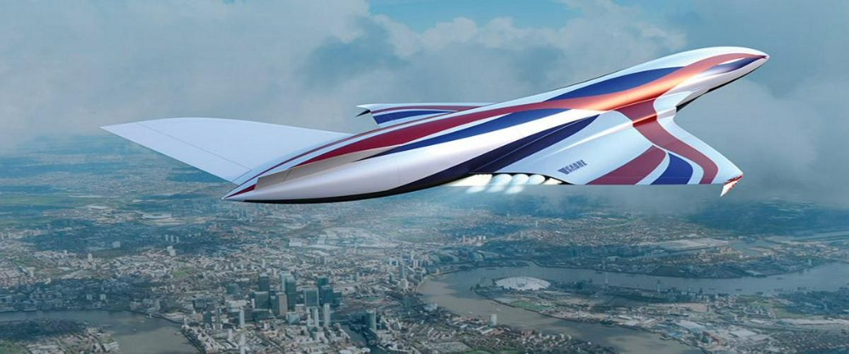 Самолет с уникальным гиперзвуковым двигателем Sabre пересечет полмира за четыре часа Авиация