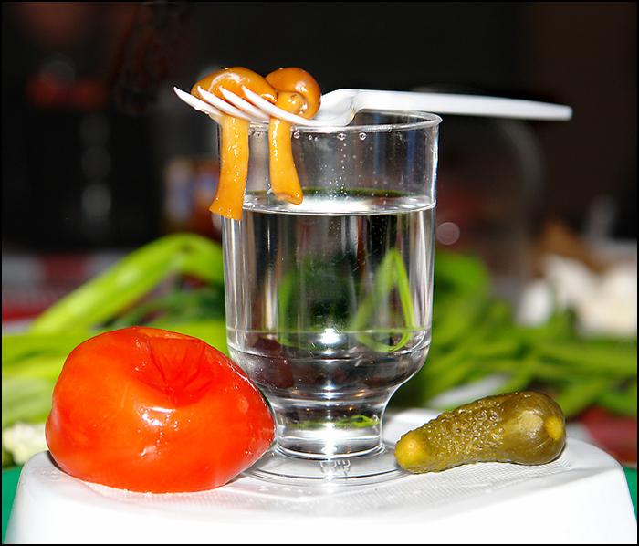 Приправа водкой