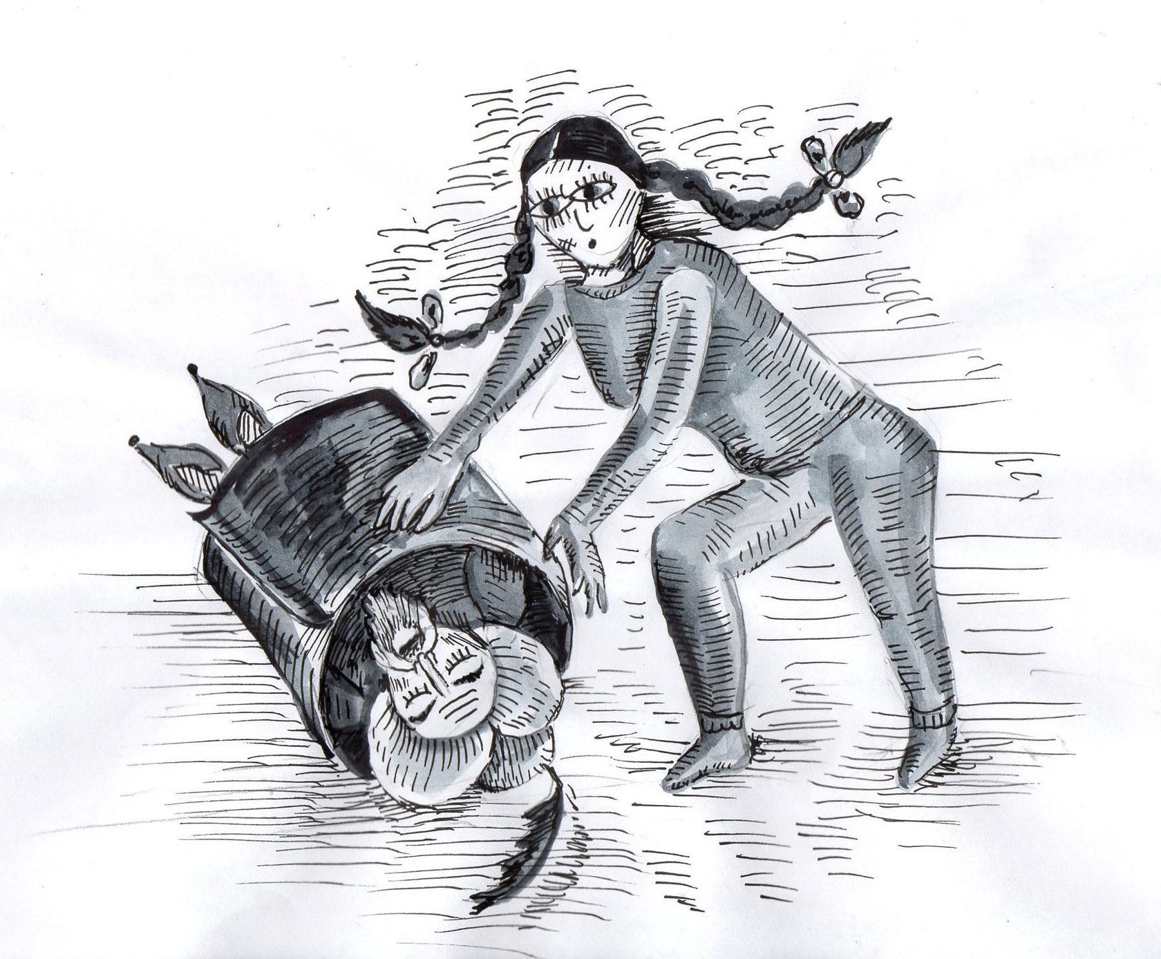 Свадьбы не будет. Чему учат девочек феминистские сказки по-русски интересное,общество,россияне,сказки,феминизм
