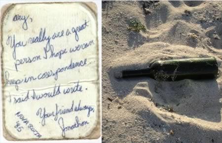 8 Самых прикольных историй посланий в бутылке