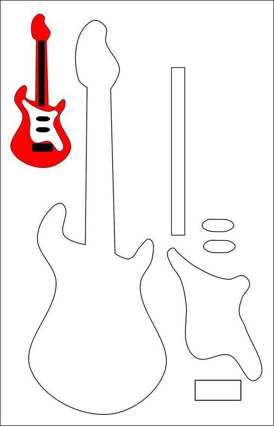 Выкройки гитар
