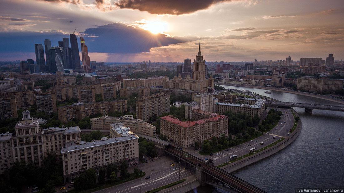 Полет над Москвой путешествия