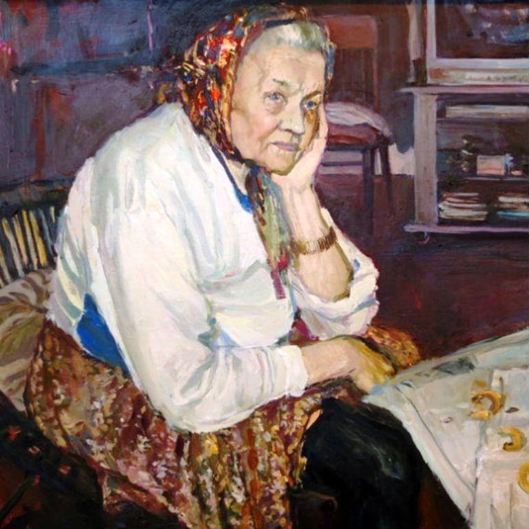 Бабушка… Все в доме, не исключая и Борьки, смотрели на нее как насовершенно лишнего человека..