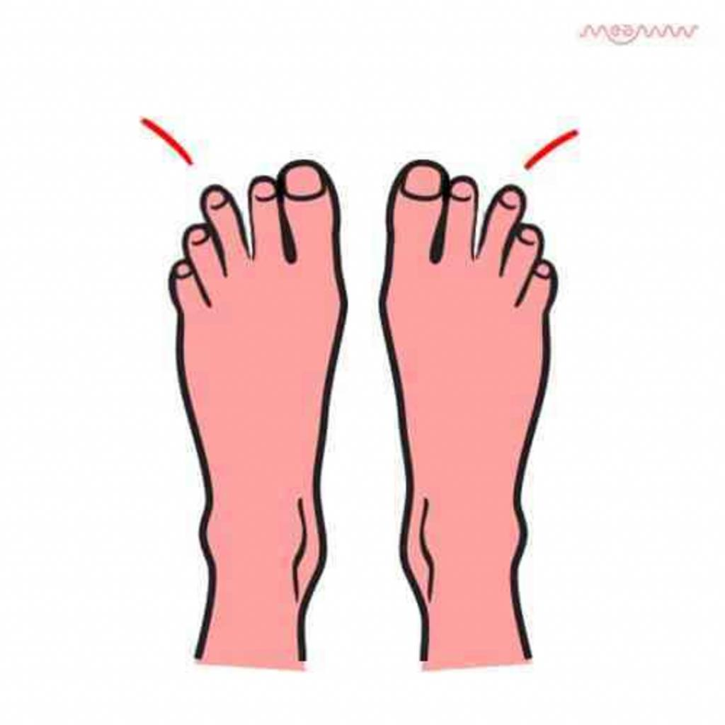 Форма пальцев на ногах и ваш характер: что пальчики расскажут о вас