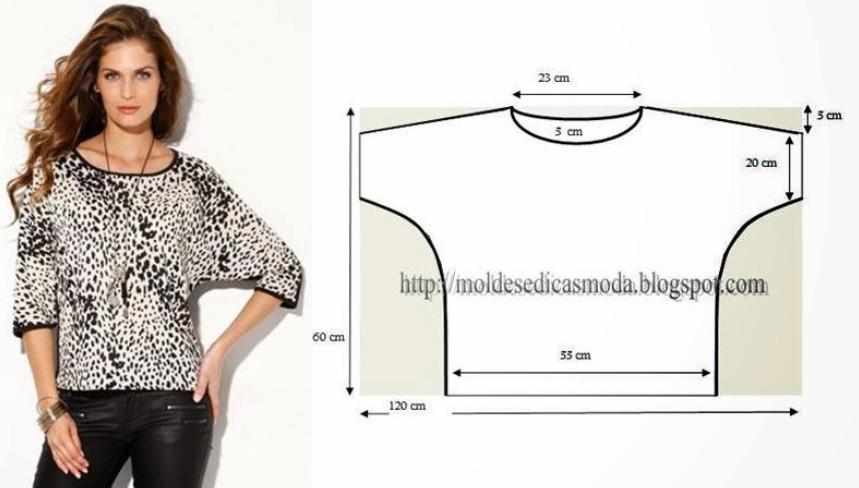 Модели трикотажных блузок фото птицы