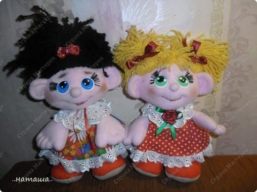 Куклята от Наташи.