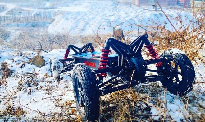 Электрический скейтборд-внедорожник Cycleagle