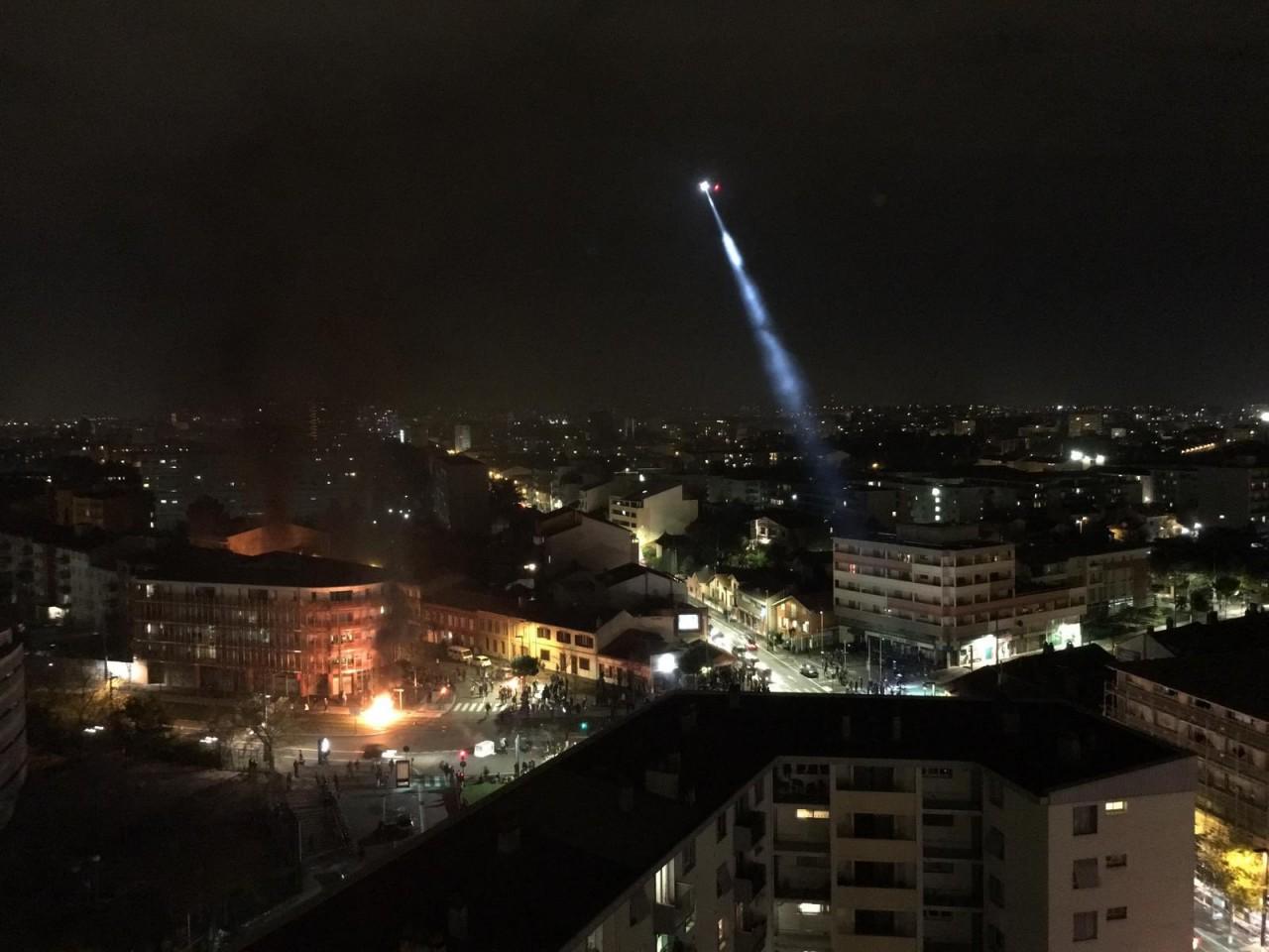 Протесты в Тулузе и Бордо