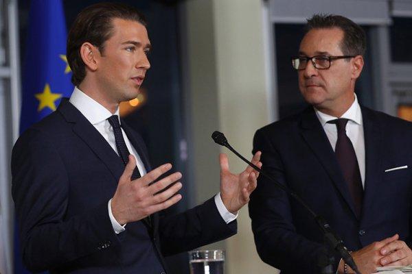 Новое правительство Австрии взяло курс на борьбу против санкций направленных на РФ