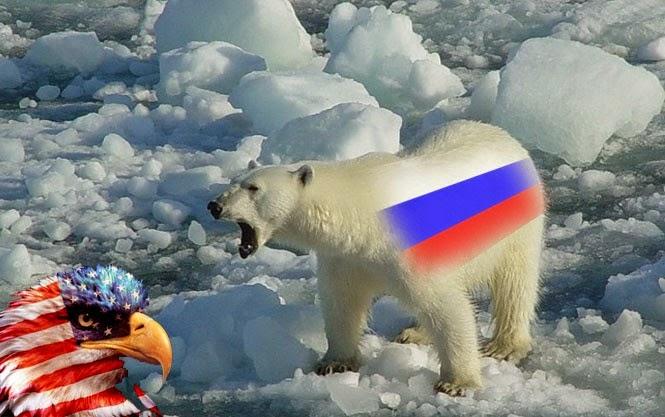 Москва бьет Арктикой по геге…