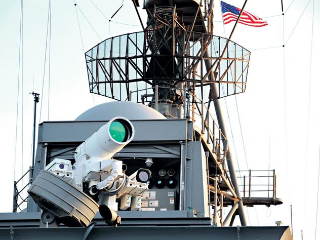 Боевой лазер США оказался фальсификацией