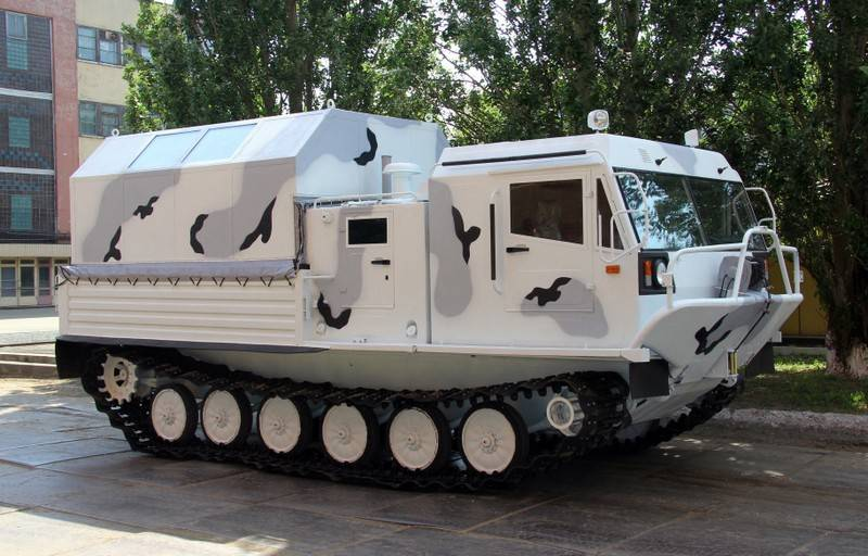 В Кургане разрабатывают новую боевую машину на базе вездехода ТМ140