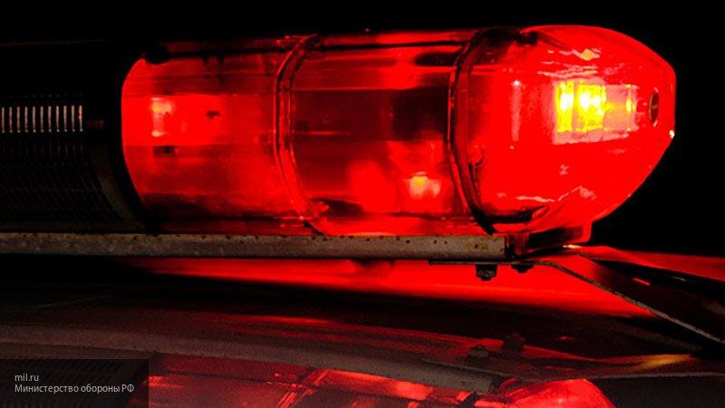 В Вологде во время погони перевернулась полицейская машина