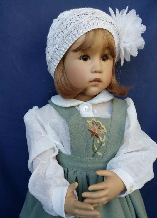 Удивительно красивые и очень реалистичные куклы Сиссель Скилле... handmake,куклы и игрушки,поделки своими руками