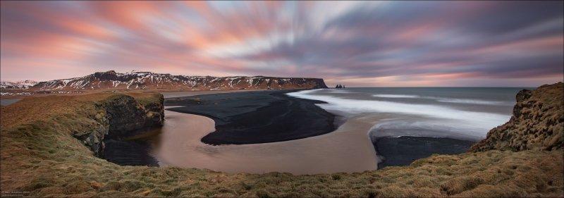 """Упасть, кстати, несложно, когда ветер """"под двадцаточку"""" поднимается. Например, тут постоянно летела морская пена в лицо, хотя до моря далеко. исландия, красота, пейзаж, природа, путешествия, фото, фотограф, фотографии"""