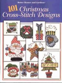 101 Christmas Designs Book (вышивка крестиком)