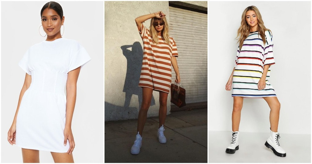 Платье-футболка — стильная обновка для жаркого лета