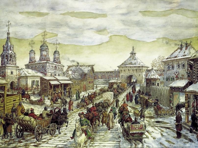 Царский двор Алексея Михайловича в описании польско-литовского военнопленного