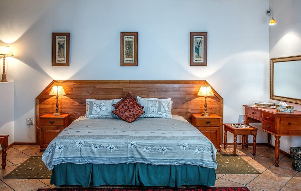 Классический интерьеро спальной комнаты
