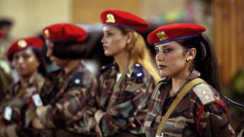 Самые опасные отряды женского спецназа