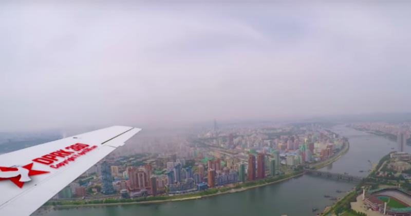 Сингапурскому фотографу разрешили снять Северную Корею с высоты птичьего полета