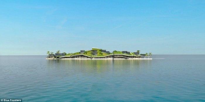 Каждый остров идеально впишут в окружающую среду.