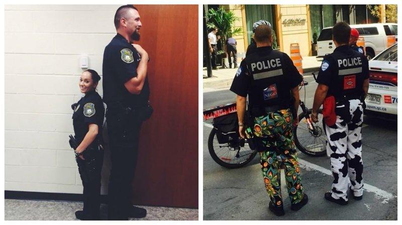 20 доказательств того, что полицейским не чуждо чувство юмора