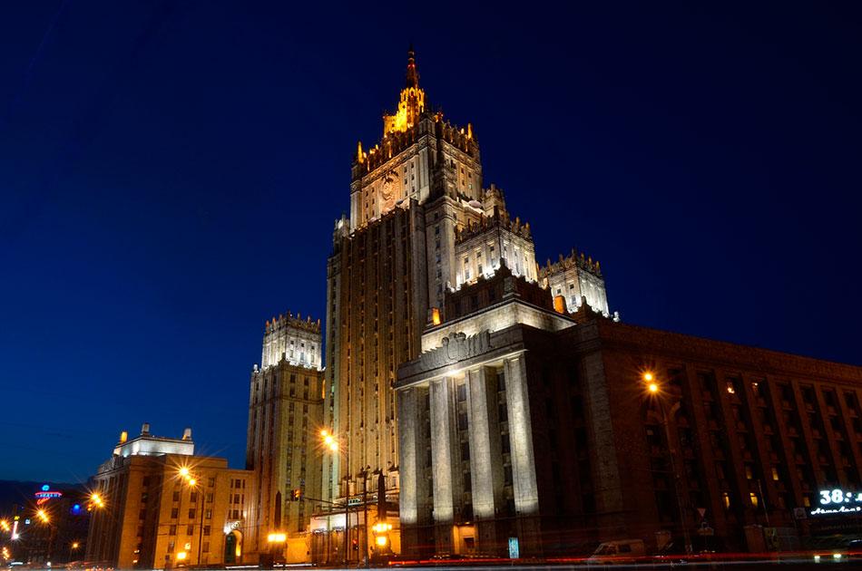 О массовой высылке российских дипломатов