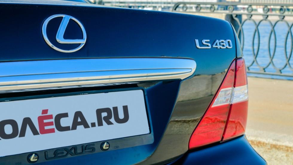 Lexus LS430 крышка багажника