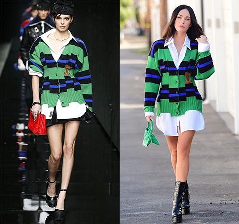 Модная битва: Кендалл Дженнер против Меган Фокс