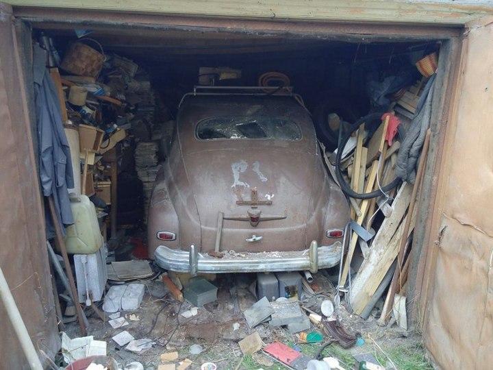 Что можно откопать в старом гараже