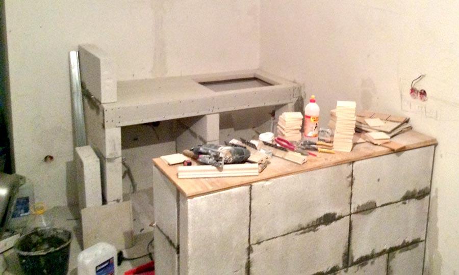 Столешницы для кухни своими руками