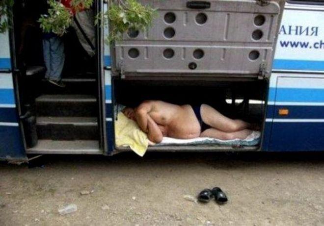 Если нет билета на автобус