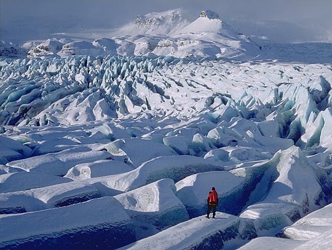 МЕСТА ДАЛЁКИЕ И БЛИЗКИЕ. Ватнаёкюдль — крупнейший ледник Европы