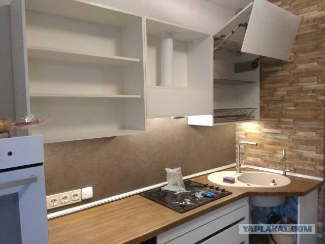 Кухня глазами и руками бытового строителя!