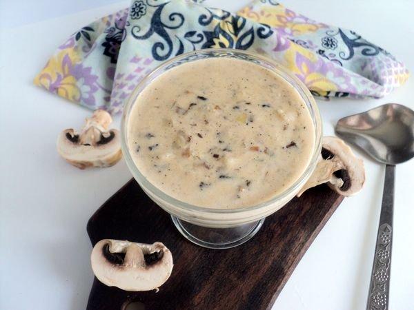 Сливочно — грибной соус из ш…