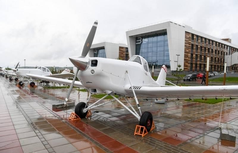 В России будет выпускаться первый отечественный самолет для аграриев