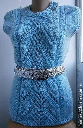 В копилочку любителей вязани…