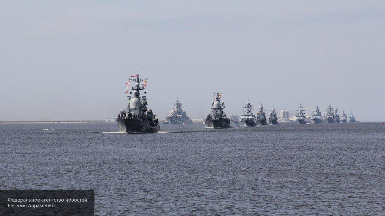 Парад кораблей по случаю Дня ВМФ состоялся во Владивостоке