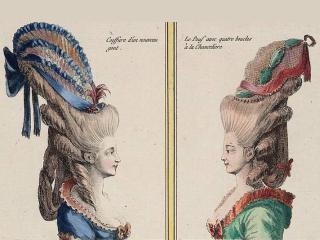 Парикмахерское искусство в эпоху барокко и рококо