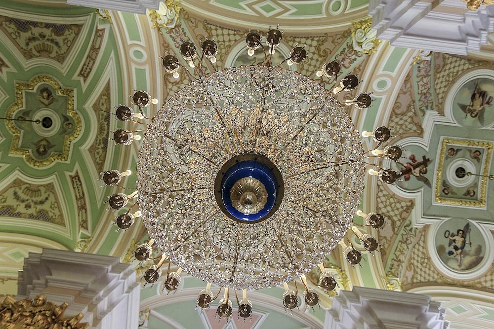 Внутри Петропаловского собора Россия,туризм,экскурсионный тур