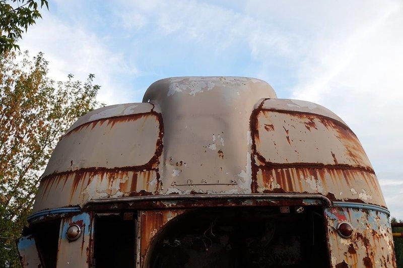 Тот самый ''хобот'', или воздухозаборник, выходящий на крышу ЛАЗ, ЛАЗ-695Е, авто, автобус, олдтаймер, реставрация, ретро авто, ретро техника