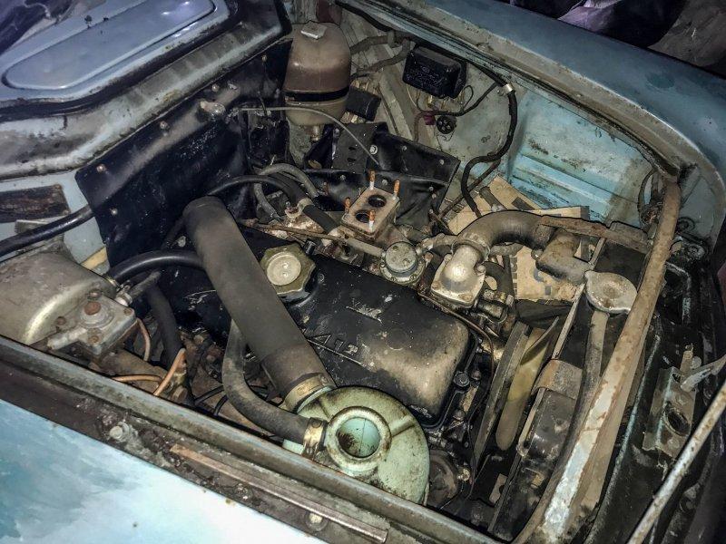 412-й мотор: хорошее решение для рабочей машины Москвич-430, авто, азлк, москвич, находка, олдтаймер, ретро авто, фургон
