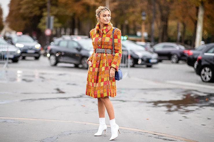 С чем модно носить белую обу…
