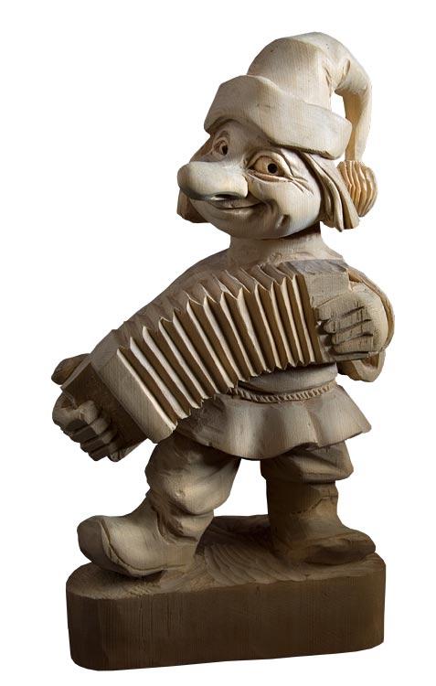 Резные скульптуры Юрия Карпенко
