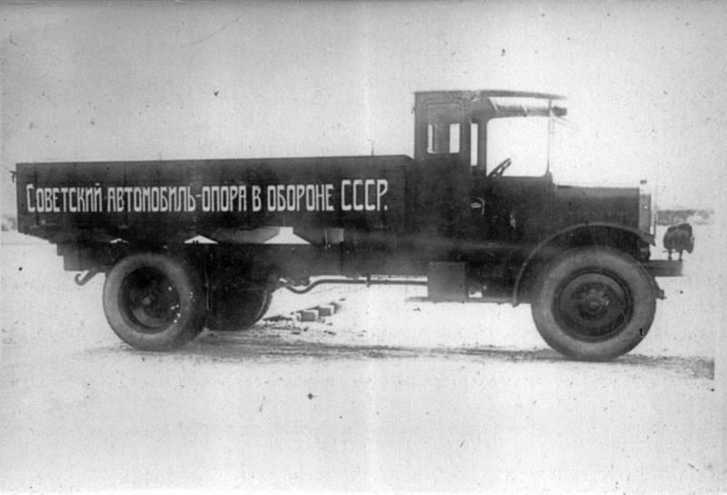 Грузовой автомобиль Я-3. Первый из Ярославля